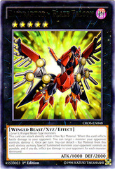 Raidraptor - Blaze Falcon - CROS-EN048 - Rare - 1st Edition