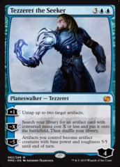 Tezzeret the Seeker on Channel Fireball
