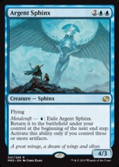 Argent Sphinx - Foil on Channel Fireball