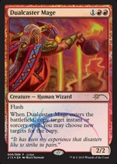 Dualcaster Mage - Foil DCI Judge Promo on Channel Fireball