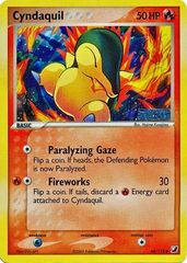 Cyndaquil - 54/115 - Promotional - EX Unseen Forces Sneak Preview