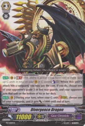 Divergence Dragon - PR/0189EN - PR