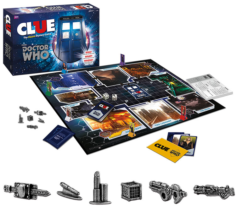 Clue - Doctor Who