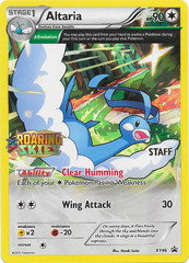 Altaria - XY46 - Roaring Skies Staff Promo on Channel Fireball