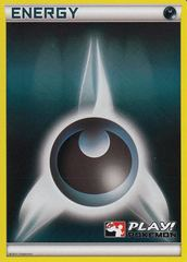 Darkness Energy - Promotional - Crosshatch Pokemon League Promo on Channel Fireball