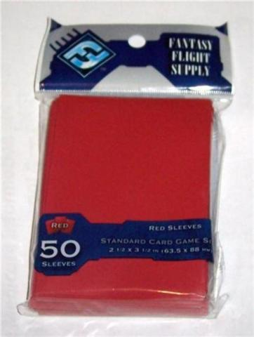 Fantasy Flight Games Red Standard Sized Sleeves