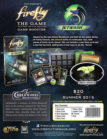 Firefly: The Game - Jetwash Game Booster