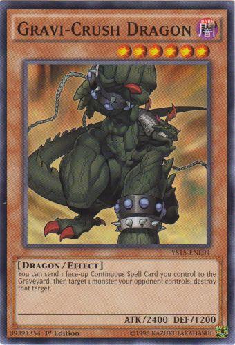 Gravi-Crush Dragon - YS15-ENL04 - Common - 1st Edition