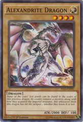 Alexandrite Dragon - YS15-ENF01 - Common - 1st Edition on Channel Fireball