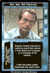 Det. Sgt. Hal Vukovich