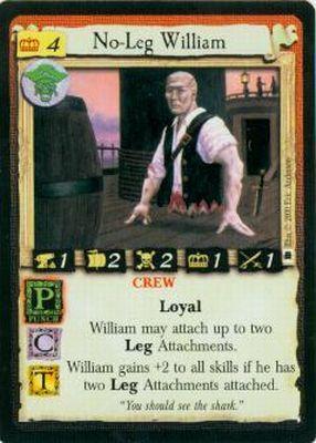 No-Leg William