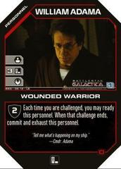 William Adama Wounded Warrior