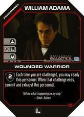 William Adama Wounded Warrior