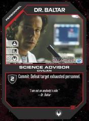 Dr. Baltar Science Advisor