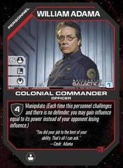 William Adama Colonial Commander