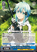In the Sunlight Forest, Sinon - SAO/SE23-E19 - R - Foil