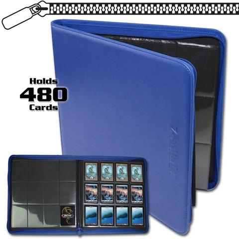 BCW Z-Folio 12-Pocket LX Album - Blue
