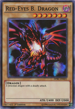 Red-Eyes B. Dragon - DPBC-EN021 - Super Rare - 1st Edition