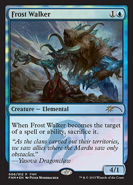 Frost Walker - Foil FNM 2015