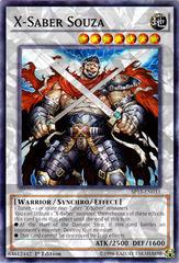 X-Saber Souza - SP15-EN033 - Shatterfoil - 1st Edition