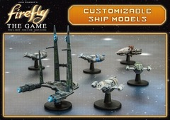 Firefly, The Game: Customizable Resin Ship Set 1