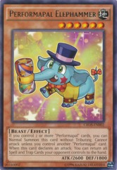 Performapal Elephammer - CROS-EN002 - Rare - Unlimited Edition