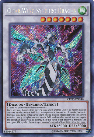 Clear Wing Synchro Dragon - CROS-EN046 - Secret Rare - Unlimited Edition