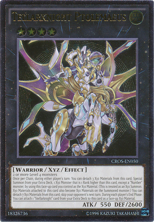 Tellarknight Ptolemaeus - CROS-EN050 - Ultimate Rare - Unlimited Edition