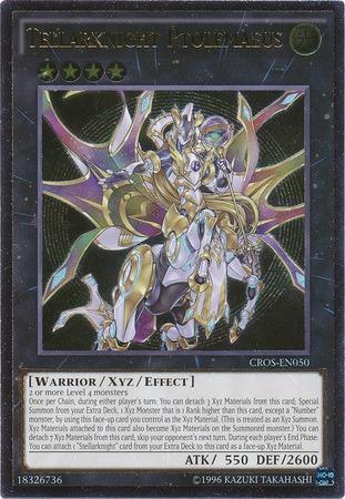 Tellarknight Ptolemaeus - CROS-EN050 - Ultimate Rare - Unlimited Edition