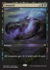 Languish - Game Day Extended Art Foil