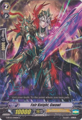 Fair Knight, Gwawl - G-BT03/046EN - C