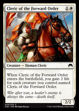 Cleric of the Forward Order - Foil