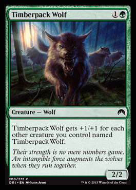 Timberpack Wolf