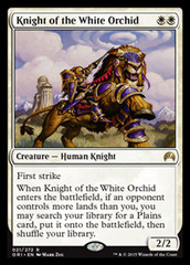 Knight of the White Orchid - Foil