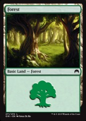 Forest (271) - Foil on Channel Fireball