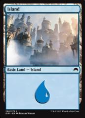 Island - Foil (260)(ORI)