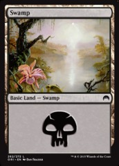 Swamp - Foil (262)(ORI)