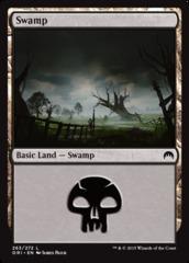 Swamp - Foil (263)(ORI)