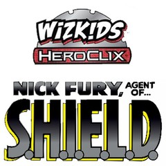 Marvel HeroClix: Nick Fury, Agent of S.H.I.E.L.D Single Booster (5 Figures)