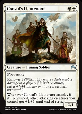 Consuls Lieutenant