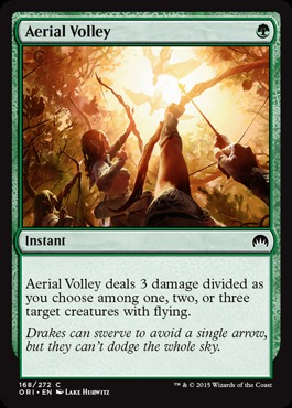 Aerial Volley - Foil