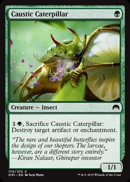 Caustic Caterpillar - Foil