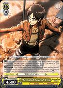 Activated Powers Eren - AOT/S35-TE05 - TD