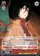 Hope in the Darkness of Despair Mikasa - AOT/S35-TE17 - TD