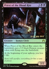 Priest of the Blood Rite - Foil - Prerelease Promo