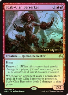 Scab-Clan Berserker - Magic Origins Prerelease Promos