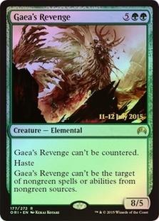 Gaeas Revenge - Foil - Prerelease Promo