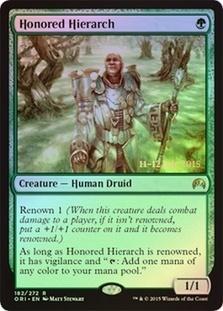 Honored Hierarch - Foil - Prerelease Promo