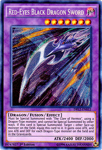 Red-Eyes Black Dragon Sword - DRL2-EN012 - Secret Rare - 1st Edition