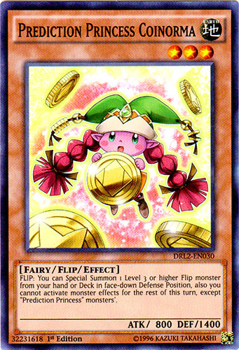 Prediction Princess Coinorma - DRL2-EN030 - Super Rare - 1st Edition